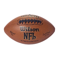 Wilson® Composite Leather Football - Youth Size