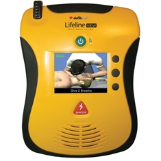 Lifeline VIEW Defibrillator with Case