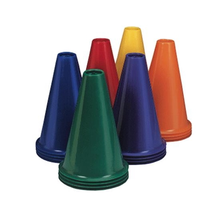 Lightweight 9'' Colored Stack Cone Set