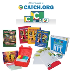 CATCH 6-8 Classroom Curriculum/Coordination Kit/PE Box and CATCH.org Bundle