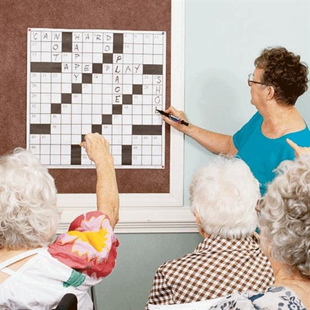 Crossword Puzzle - Giant 2' - Special Needs Therapy Puzzles