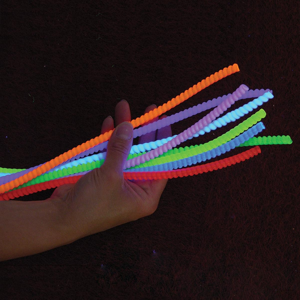 Rope Lights Sensory: UV Twister Rope