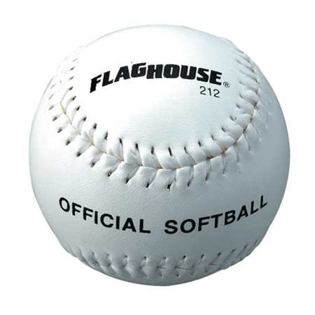 FLAGHOUSE Synthetic Leather Cover Softball