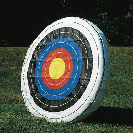 Archery Target Face - Glasscloth - Slip - On - 48'' dia