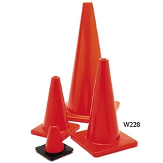 "Extra - Sturdy 18"" Marker Cone - Orange"