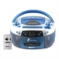 Audio Star Boombox Radio/CD/USB/Cassette Player - Thumbnail 1