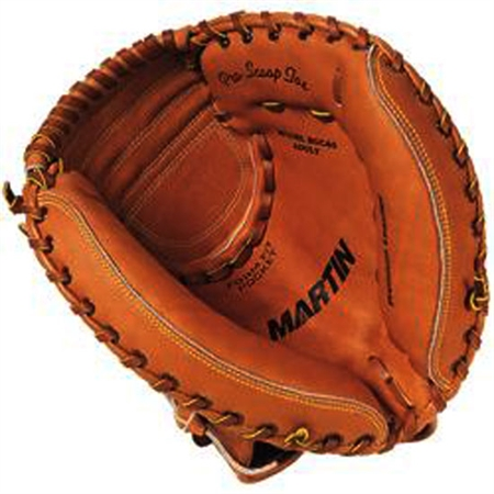Catchers Gloves - Full - Grain Leather - Adult
