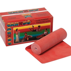 Cando® Bands - Light  - Red - 150-foot roll