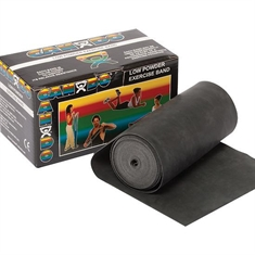 Cando® Bands – Extra - Heavy - Black - 150-foot roll