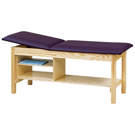 Treatment Table with Shelving
