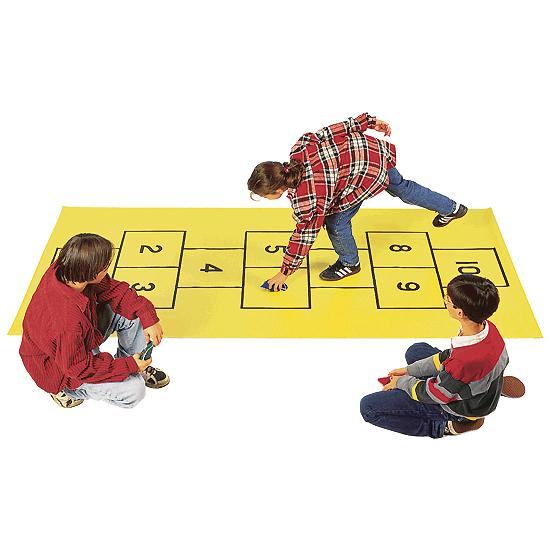 development hopscotch game as a learning Learning and development progress  top ten games   draw a simple chalked hopscotch game on the ground.