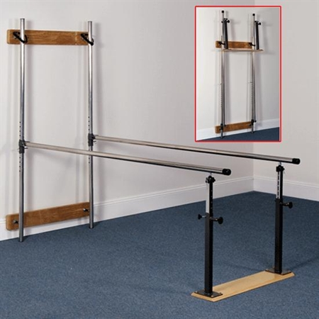 THERAGYM Wall - Mount Parallel Bars - Kids Special Needs Clinic Parallel Bars
