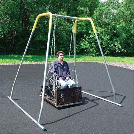 Large Wheelchair Swing Amp Indoor Frame Special Needs Swings