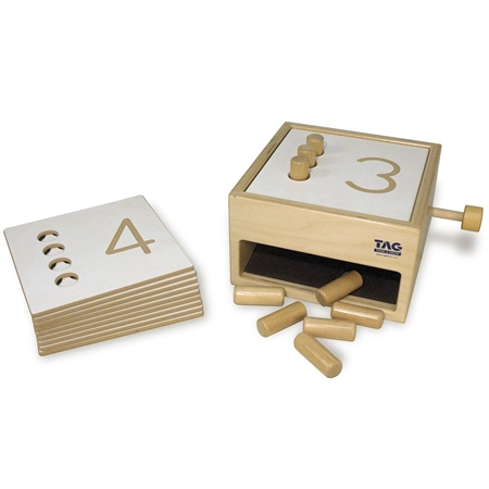 Counting Pegs Box - Kids Special Needs Manipulatives