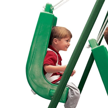 FLYING COLORS� Swing Seat - Small with Pommel - Kids Special Needs Sensory Integration Swings