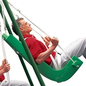 FLYING COLORS® Swing Seat - Large with Pommel