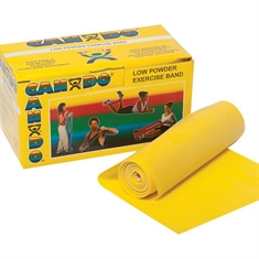Cando® Bands – Extra - light - Yellow - 18-foot roll