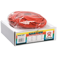 Cando® Tubing - Light - Red - 100-foot roll