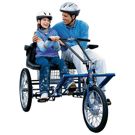 Side - by - Side Trike - 3 - Speed - Kids Special Needs Adapted Ride Ons