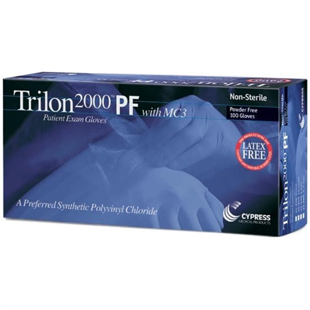 TRILON 2000 PF Synthetic Gloves - Special Needs Toileting