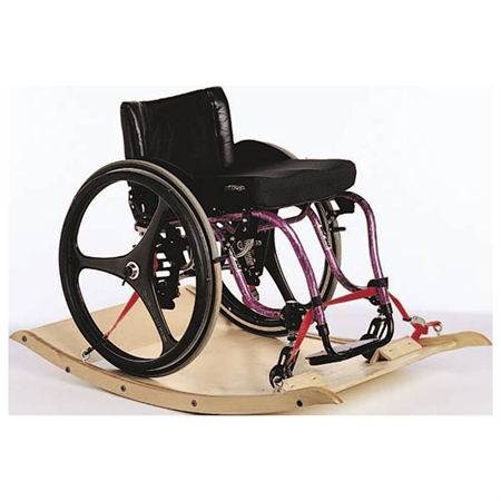 Challenge Platform Wheelchair Rocker - Kids Special Needs Sensory Integration Rocking Equipment