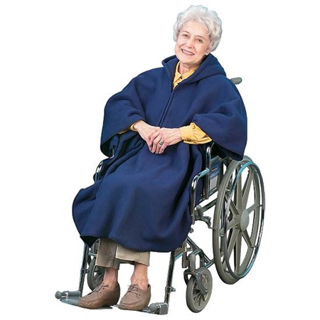 Wheelchair Poncho - Special Needs Dressing Aids