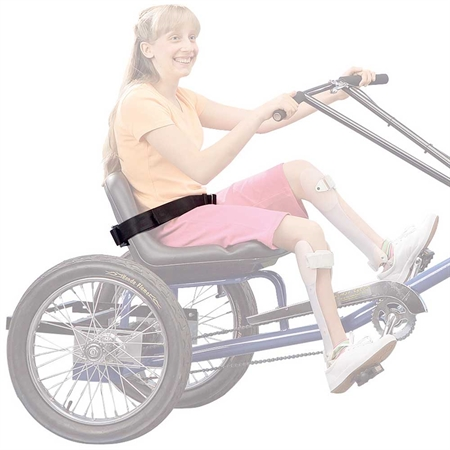 Personal Activity Vehicle & Side - by - Side Large Trike - Seat Belt - Kids Special Needs Adapted Ride Ons