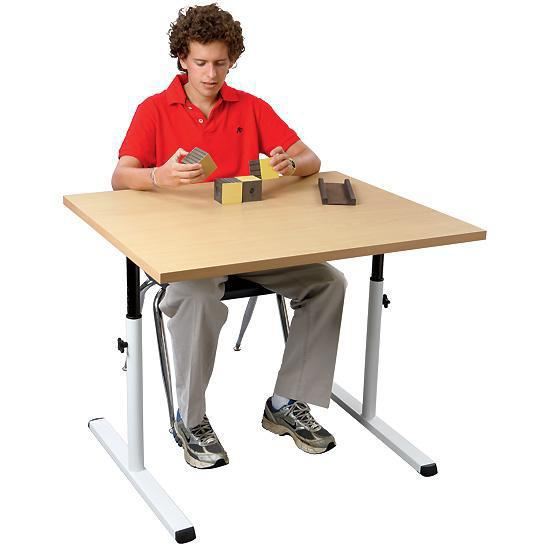 FlagHouse Height Adjustable Personal Work Table   Thumbnail 1