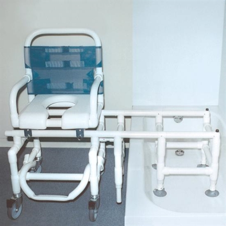 Dura GlideT Bath Commode System - Kids Special Needs Toileting Aids