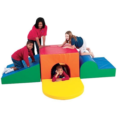 SoftPlay Tunnel Climber - Kids Special Needs Soft Climbers