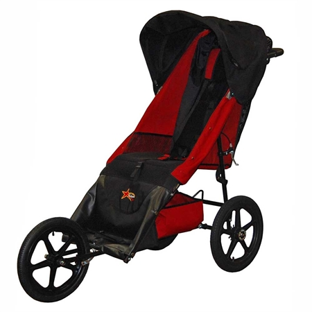 AXIOMT Improv Medical Mobility Push Chair - 63 1/2'L x 24'W x 46'H - Kids Special Needs Strollers