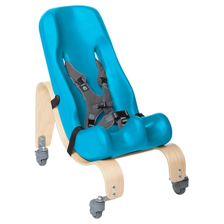 SPECIAL TOMATO™  Soft-Touch Sitter with Mobile Tilt Wedge Kit - Size 1