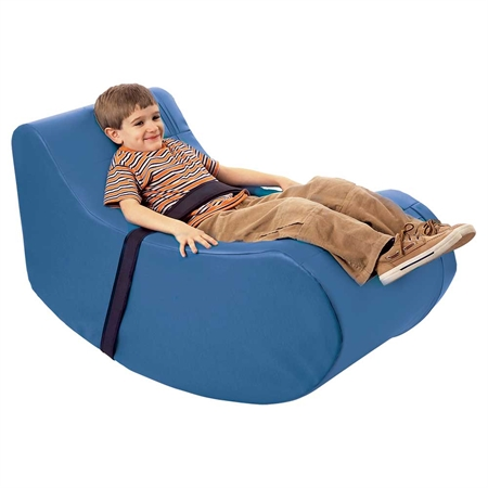 FLAGHOUSE Child's Soft Rocker - Kids Special Needs Sensory Integration Rocking Equipment