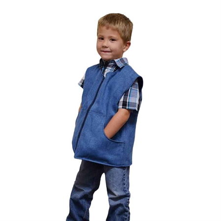 SENSORYCRITTERS Boy's Cotton Style Weighted Vest