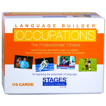 Occupation Cards - Kids Special Needs Communication Picture Cards