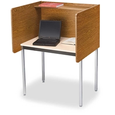 Adjustable - Height Maximum Privacy Carrels
