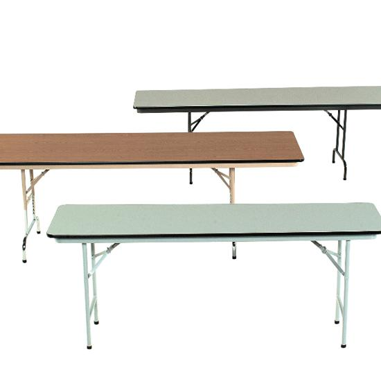 Abco Adjustable Height Folding Tables 36 X 72 Flaghouse