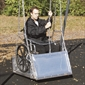 Wheelchair Swing Platform & Frame - Large - Thumbnail 1
