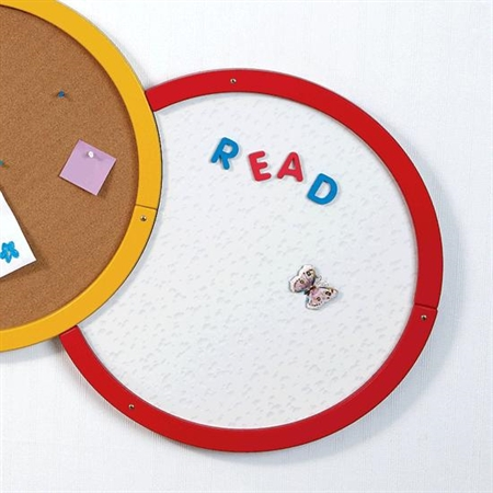 Creative Caterpillar - Magnetic Disc with Red Ring - Kids Special Needs Teacher Resources