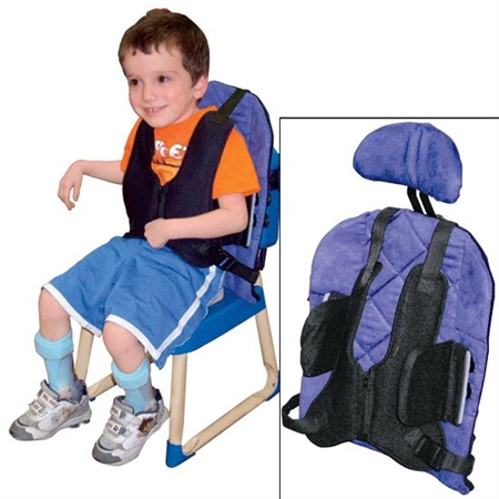 Back - 2 - Go Back Support - Kids Special Needs Back And Lateral Supports