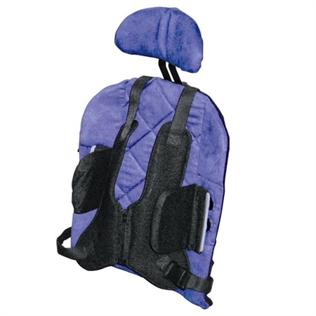 Back - 2 - Go Headrest - Kids Special Needs Back And Lateral Supports