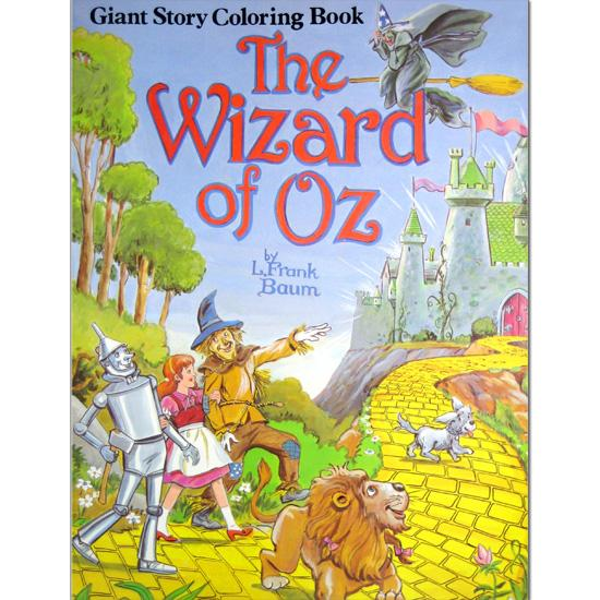 Giant Story Coloring Books The Wizard of Oz FlagHouse