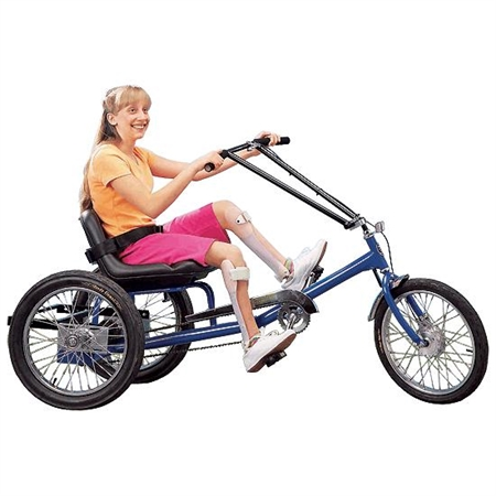 Low Rider Recumbent Trike - 1 - Speed with Electrical Assist - Kids Special Needs Adapted Ride Ons
