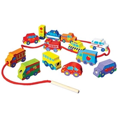 Wooden Stringing Sets - String - a - Car