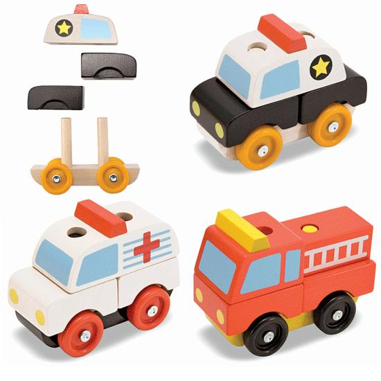 Stackable Puzzles - Emergency Vehicles - Thumbnail 1