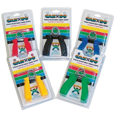 Easy Grip Hand Exerciser Set - X Hard Black - Special Needs Therapy Hand Exercisers