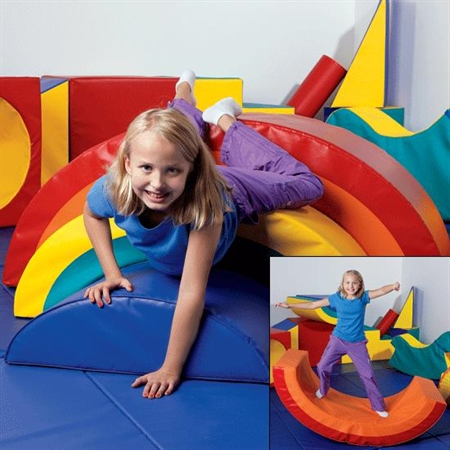 Rainbow Arch Trio - Kids Build Your Own Special Needs Soft Play Equipment
