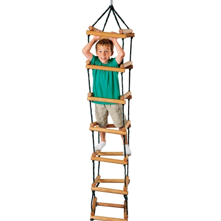 FLAGHOUSE Rope Tower Ladder - Kids Special Needs Sensory Integration Swings