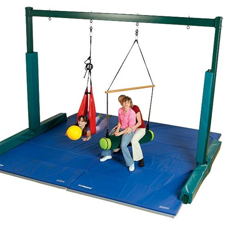 Sensory Integration Support System (SISS) - 7 1/2' x 10' - Kids Special Needs Sensory Integration Vestibular Frames