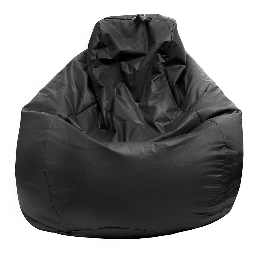linen bag charcoal bean handle cielo ottoman chair beanbag set with luxury rope